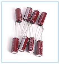 (16pcs) 120uf 50v NCC Radial Electrolytic Capacitors LXV 50v120uf