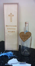 Large Message in a Bottle - Alternative Guest Book - Christening  - Baby Shower