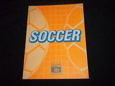 Aflo Soccer Photo Catalogue - Stock Photography - F 1070