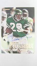 1997 Fleer # 192 Adrian Murrell Autograph Card PSA/DNA Pre-Certified Jets