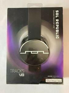SOL Republic Tracks HD On The Ear Wired Headset - Tracks V8 - Black
