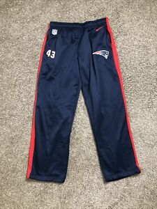 New England Patriots NFL On Field Nike Therma Fit Pants (Mens XL) #43