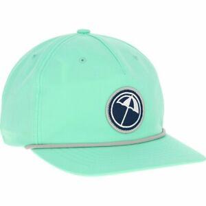 Puma N1AP Arnold Palmer AP Rope 110 Leather Strap Hat Cap Mist Green #30837