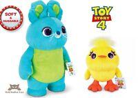 "Official Disney Pixar Toy Story 4 Ducky 10"" Bunny 17"" Huggable Plush Toy"