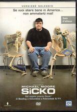SICKO - DVD (USATO EX RENTAL) MICHAEL MOORE