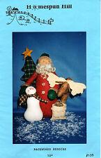 "1998 Uncut Homespun Hill Sewing Craft Doll Pattern # 139 ""Backwoods Buddies"" 10"""