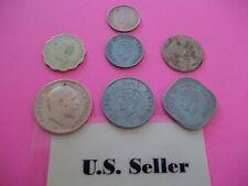 Rare British India coins set of 7 coins US Seller