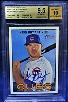 2016 Topps Heritage HN Real One AUTO Kris Bryant (BGS 9.5/10) (MVP & WS Year)