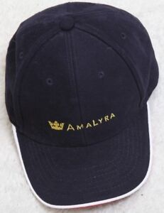 Amalyra Blue White Red Baseball Hat Strap Back Cotton Cap Myrtle Beach Headgear