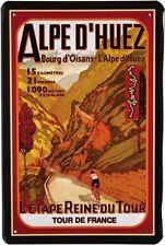 Escudo de chapa 20x30 Tour de France etapa alpina bicicleta bicicleta de carreras escudo de metal