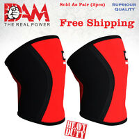 DAM Knee Sleeve Power lifting Weightlifting Patella Support Brace Protector gym