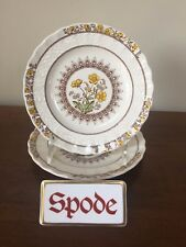 Spode BUTTERCUP Bread & Butter Plate  ~ New Stamp ~ Pair  Excellent