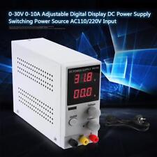 AC110 / 220V 0-30V 0-10A Source D'alimentation DC Numérique Réglable Variable