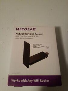 Netgear A6210 High Gain WiFi USB 3.0 Adapter AC1200 802.11AC Dual Band