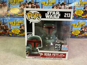 Funko POP! Deluxe Star Wars NYCC 2017 Fall BOBA FETT with Slave One #213