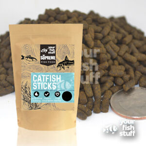 YFS Catfish Shrimp Sticks / Pellets Tropical Bulk Bottom Feeder Fish Food 1/2 LB