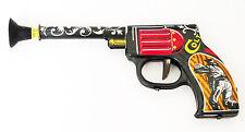 VINTAGE COLT TIN LITHO fucile a dardi; WESTERN GIOCATTOLO TADA Giappone 1960's Da Cowboy