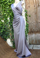 Glam PHASE EIGHT Minueta: Hollywood-style Grecian form-flattering dress 14