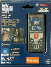 Bosch GLM 50 CX Blaze Laser Measure Bluetooth Smart 165 ft.