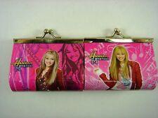 NEW Hannah Montana Kids Girls Children Coins Purse Money Pouch Bag + Pendant