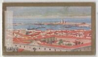 Straits and Town Of Messina Italy Earthquake 90+ Y/O Ad Trade Card