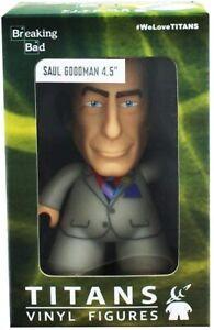 """Titan Vinyl Figures-Breaking Bad 4.5"""" Vinyl Figure Saul Goodman White Suit new s"""