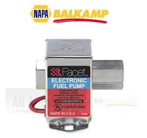 Electric Fuel Pump NAPA 6102403 Low PSI 2.0 - 3.5 psi Facet Brand 40178