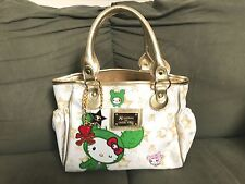 ❤️TOKIDOKI X HELLO KITTY BOSTON SANDY BAG WHITE MINI LIMITED EDITION RARE FIND❤️