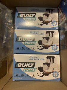Coconut Marshmallow Built Bar Puffs Limited Edition Completely Sold Out 18 Count