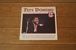 Fats Domino 20 Greatest Hits LP