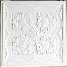 Ceiling tiles Faux tin restaurant art decor wall panel 10tile/lot PL64