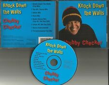 CHUBBY CHECKER Knock Down the Walls 8TRX 7 RARE MIXES & INSTRUMENTAL CD Single