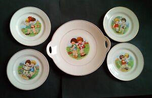 Dish Cakes + 4 Plate Dessert Talking Decor' Kids KG Lunéville