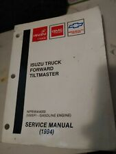 1994 Isuzu Truck Forward Tiltmaster Service Manual Npr/W4/4000