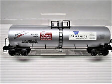 Weaver O Gauge Railroading 100th Issue Commemorative 50 ft. Tank Car April 2002
