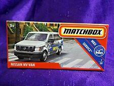 Matchbox Power Grabs Nissan Nv Van Mbx Service 7/20 Boxed Diecast New Release