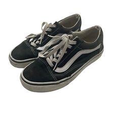 Vans Shoes Womens 6.5 / Mens 5 Black White Low Old Skool Sneakers