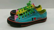 "Converse All Star ""I Love China"" Sneakers - Size M6/W8"
