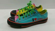 """Converse All Star """"I Love China"""" Sneakers - Size M6/W8"""