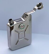 MINI COOPER Classic Car Petrol Can Jerry Can Stainless Steel Drinking Hip Flask