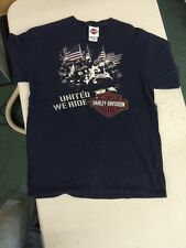 2006 Harley Davidson Motorcycles t-shirt united we ride Andy's grand forks nd