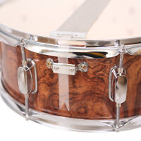 "Piccolo Snare Drum by Glarry - 13"" x 3.5"" Tiger Wood Poplar Shell Percussion"