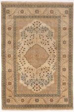 Hand-knotted Indian rug. 4'x 6'