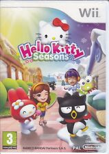 Nintendo Wii «HELLO KITTY SEASONS» nuovo sigillato italiano pal