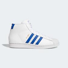 adidas Originals Pro Model Classic shoes white and blue