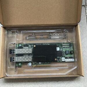 Dell Emulex LPE12002-e 8Gb FC Fibre Channel Dual Port 2x SFP Network Card +SFP