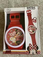 Minnie Mouse Wall Clock Watch Bedroom Decor  -92cm - New