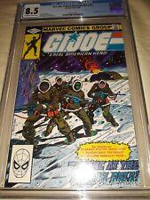 G.I. Joe #2 CGC 8.5 ( VF+ ) 1st Print 1982 - 1st App of Kwimm - New Slab