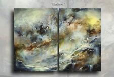 Large Seascape Painting 36 x 48 Michael Lang Art Contemporary DECOR Original