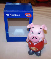 Gold Coast Suns AFL Attitude Piggy Bank Money Box 15cm Resin Hand Painted New